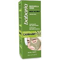 Babaria Cannabis Mascarilla Verde Facial Piel Mixta/Grasa - 100 ml