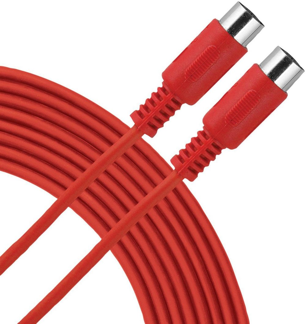 Livewire Essential MIDI Cable 10 ft. Red