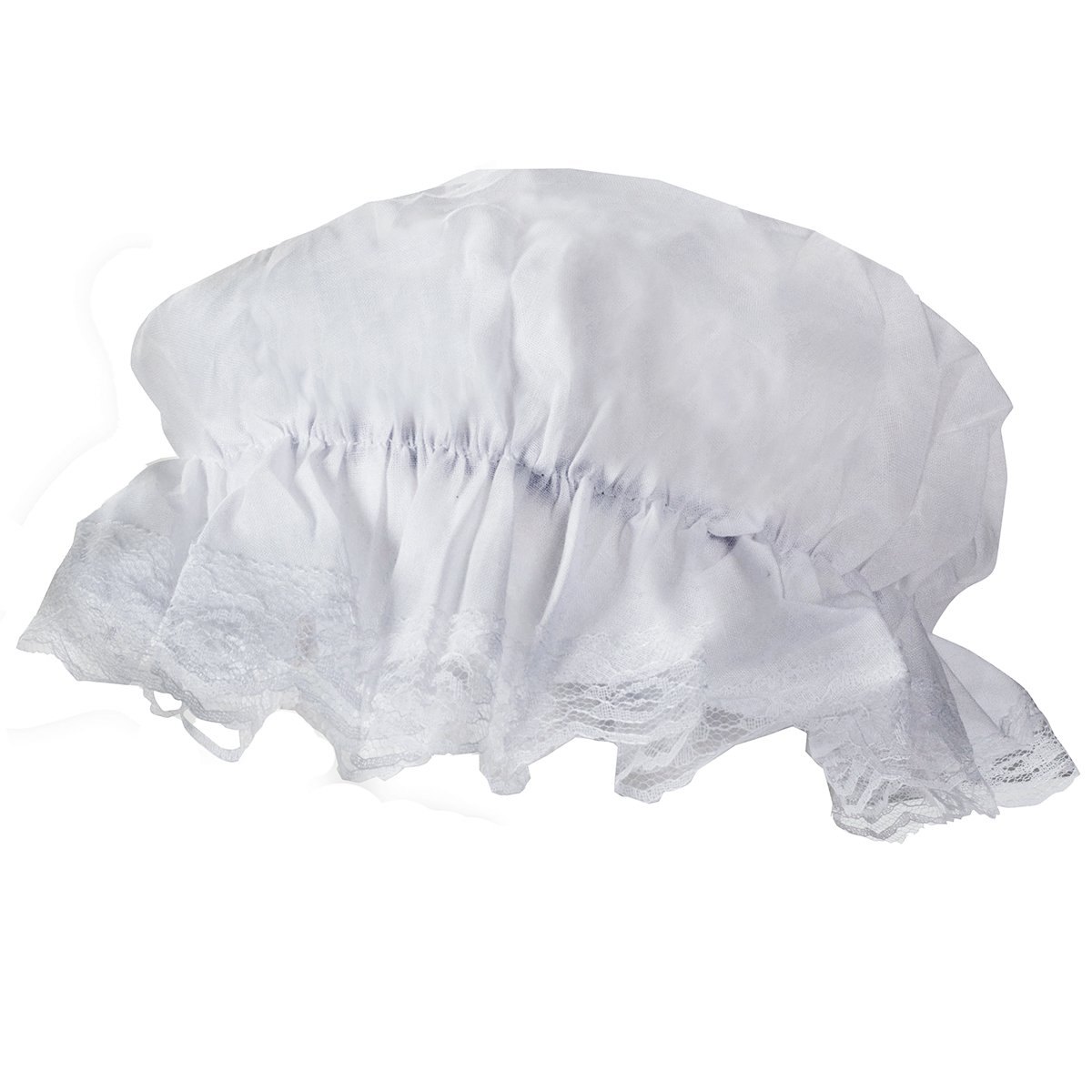 54ccf6de488 Tigerdoe Mob Cap - White Mop Hat Bonnet Colonial Costume Accessory ...
