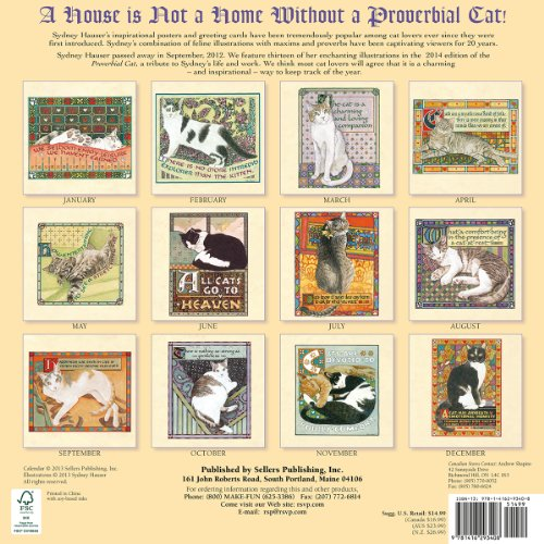 The Proverbial Cat 2014 Wall (calendar)