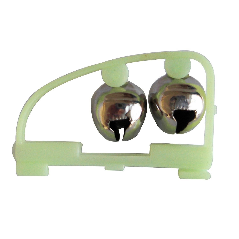 10x Bi/ßanzeiger Doppel Angel Glocke Glocken Gl/öckchen mit Knicklichthalter