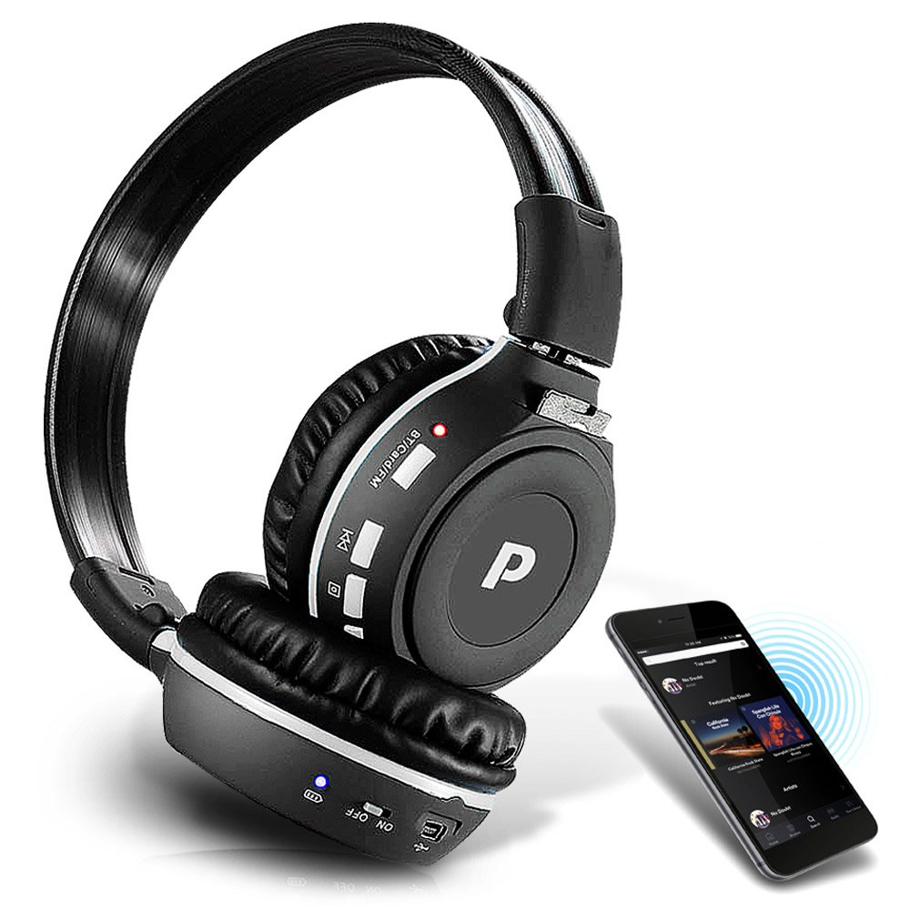 Premium Wireless Bluetooth Headphones Sd Card But If The Was Broken Or Wiring Is Wrong You Would Get Reader Dual Listening Mode Listen W A Friend Mp3 Built In Mic For Call Answering