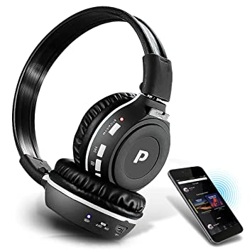 Pyle Son 7 Casque Audio Sans Fil Bluetooth Appels Mains Libres