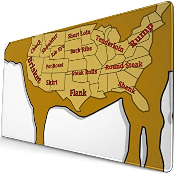 Mapa Divertido de Beef Parts Teclado de Mouse para Juegos ...