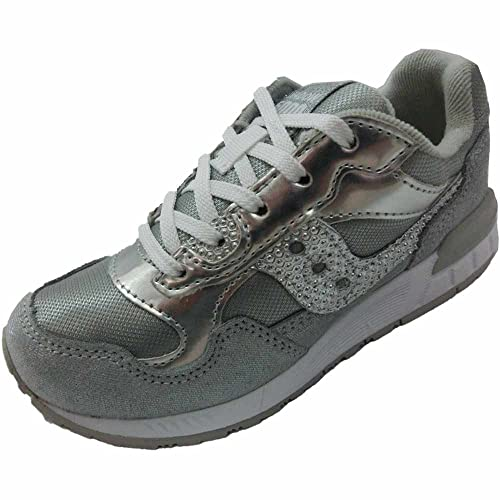 Saucony Scarpe Bambina Ragazza Girls Shadow 5000 SC53725 Sneaker Lacci Argento LDWQH1Tmp