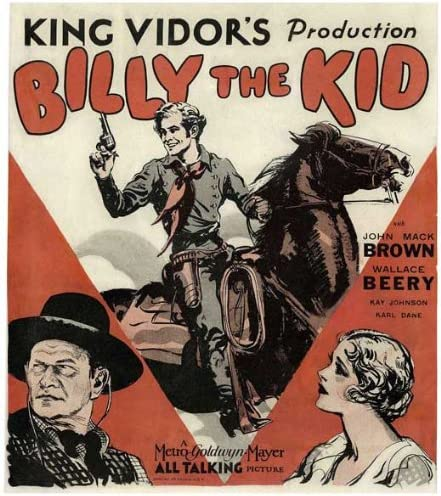 Billy the kid 1930 King Vidor vintage movie poster