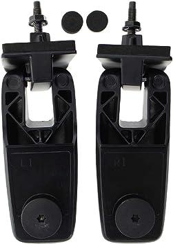 2x Rear Liftgate Glass Window Hinge Left & Right For 08-12 Ford Escape Mercury Mariner Mazda Tribute 8L8Z78420A68C 8L8Z78420A68D 8L8Z-78420A68-C 8L8Z-78420A68-D