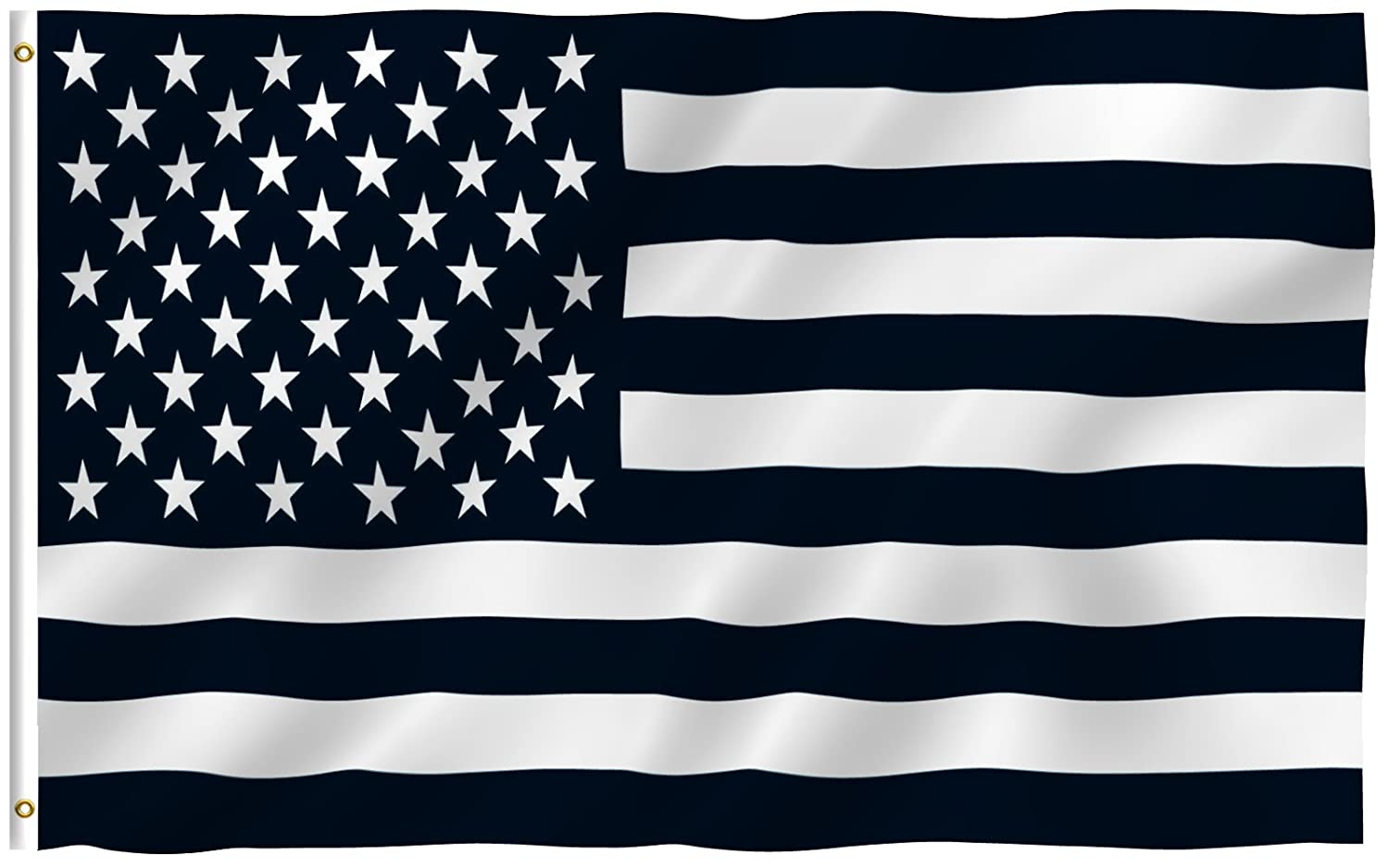 Amazon 3x5 black and white american flag military nascar amazon 3x5 black and white american flag military nascar army outdoor flags garden outdoor biocorpaavc Image collections