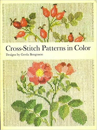 Cross Stitch Patterns In Color English And Danish Edition Danish