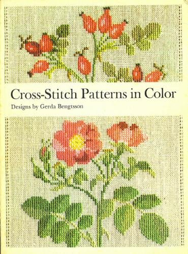 Cross-Stitch Patterns in Color (English and Danish Edition)