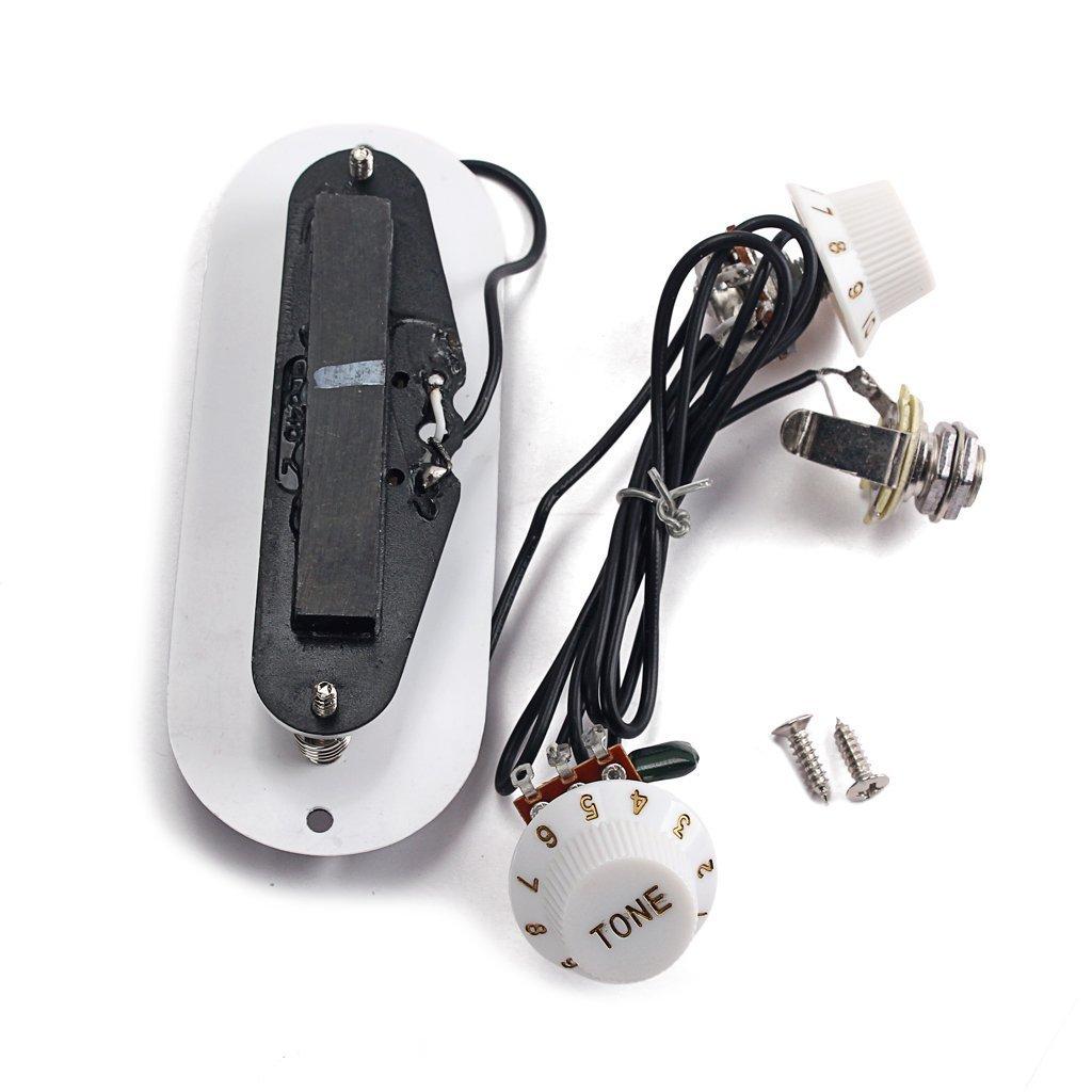 SGerste - Arnés de cableado para guitarra acústica, con agujero ...