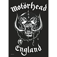 "Motorhead England Large Fabric Poster/Flag 40"" x 24"" (hr)"