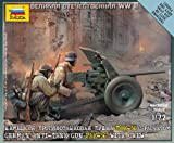 Zvezda Models 1/72 German Anti-Tank Gun PaK-36 With Crew
