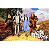 The Wizard of Oz - Yellow Brick Road Poster Print, 36x24
