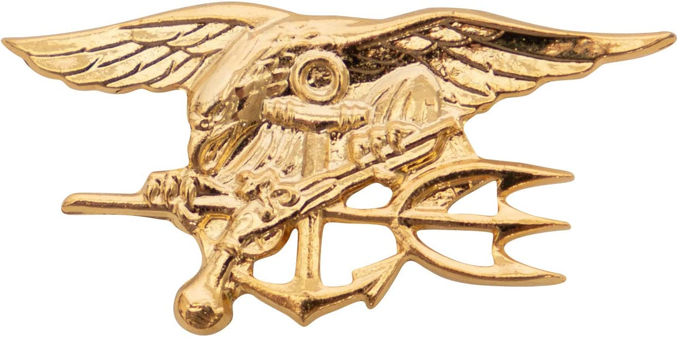 D90 STEEL NAVY SEALS USN US ARMY SPECIAL FORCES RING SIEGELRING MARINES PIN