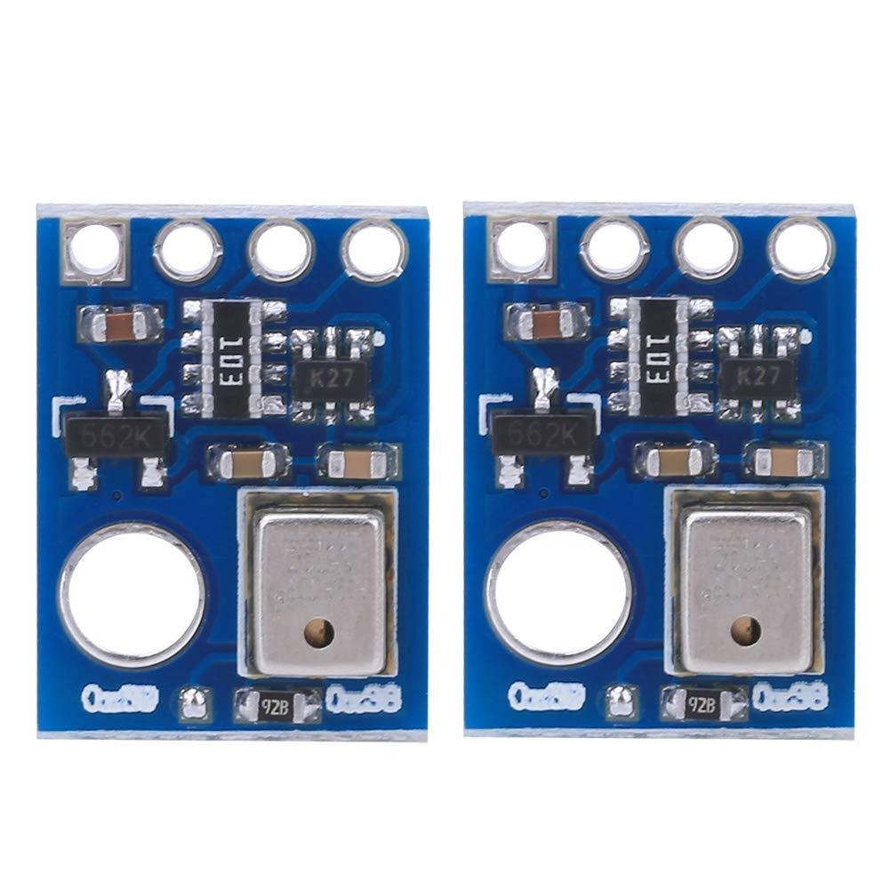 Sensor de Humedad Y Temperatura Digital de 2 Piezas M/óDulo de Medici/óN de Alta Precisi/óN de Grado Industrial Con Interfaz I2C