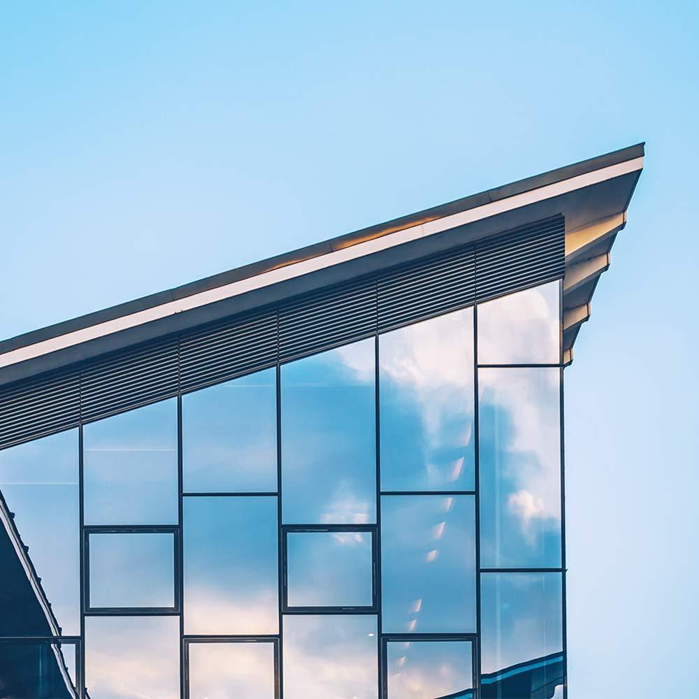 200cm Homein Film Fenetre Miroir sans Tain Protection de Solaire Film Miroir /à Sens Unique Adh/ésif Grande R/éflexion Anti 99/% UV Argent Facile Installer Bureau Chambre 90