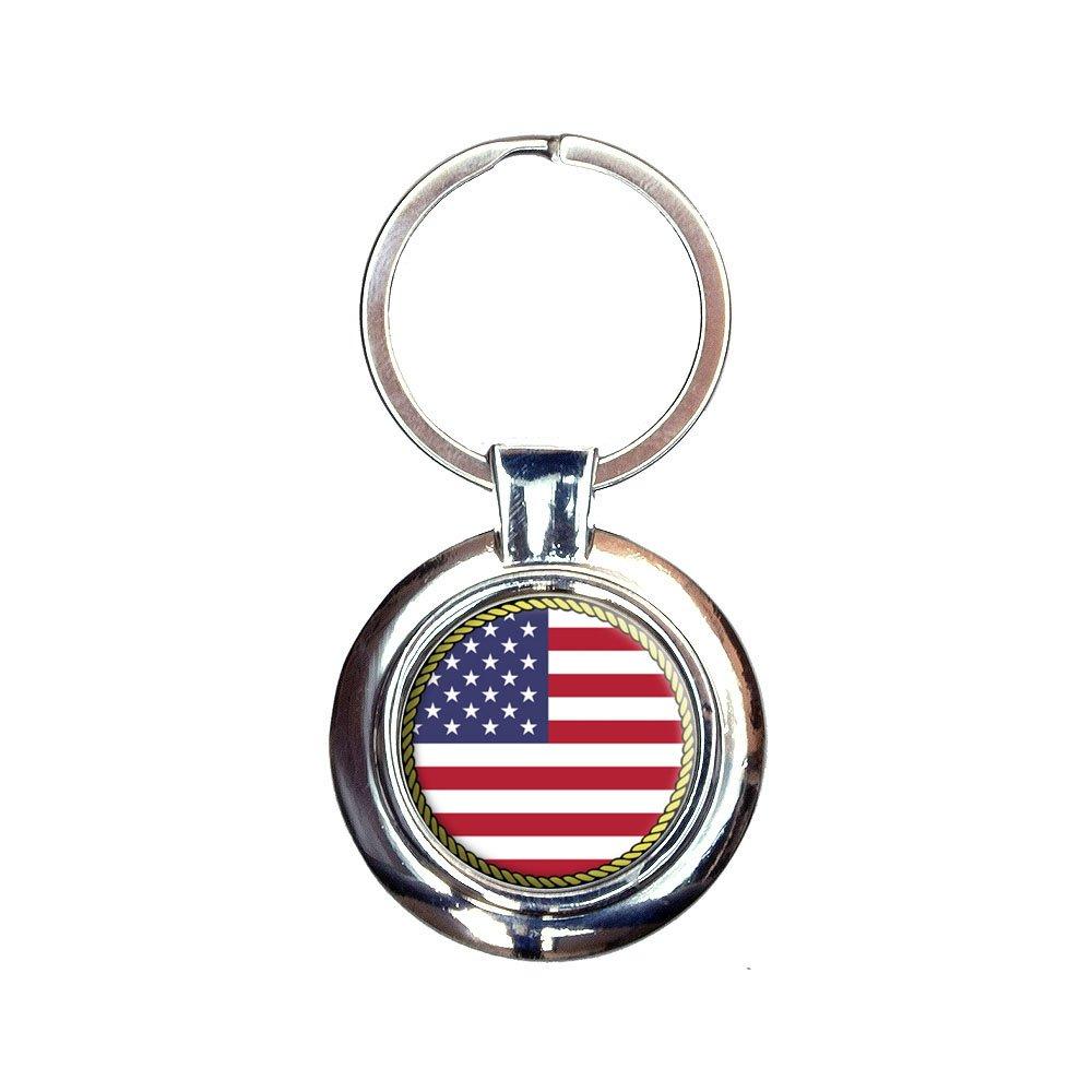 の国旗USAキーチェーンキーリング B00K1MHA5A