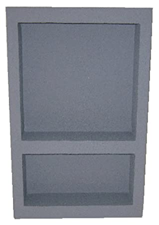 preformed double recessed shower niche size14x22 ready to tile u0026 waterproof