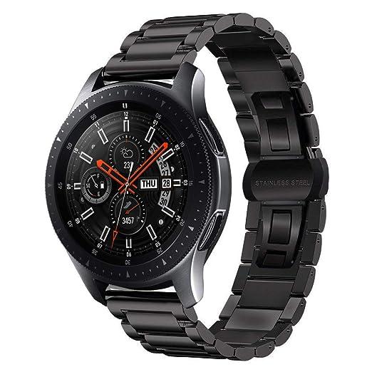 MroTech Correa Galaxy Watch 46mm de Acero Inoxidable Reloj Banda ...