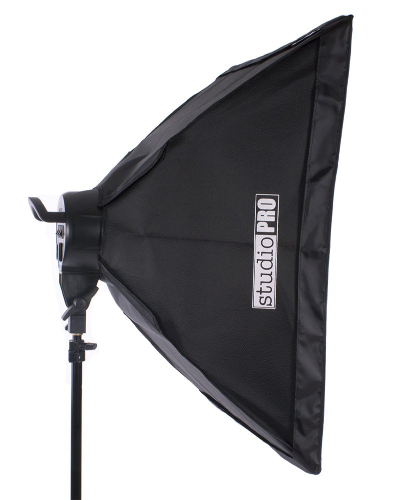 Fovitec - 3-Light 6400W Fluorescent Lighting Kit for Photo & Video with 24''x36'' Softboxes, stands, & Carry Bag by Fovitec
