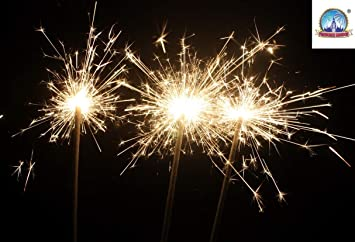 Sparklers For Wedding.100 X Sparklers 18 Wedding Party 40 Cm Giant Large Gold Outdoor