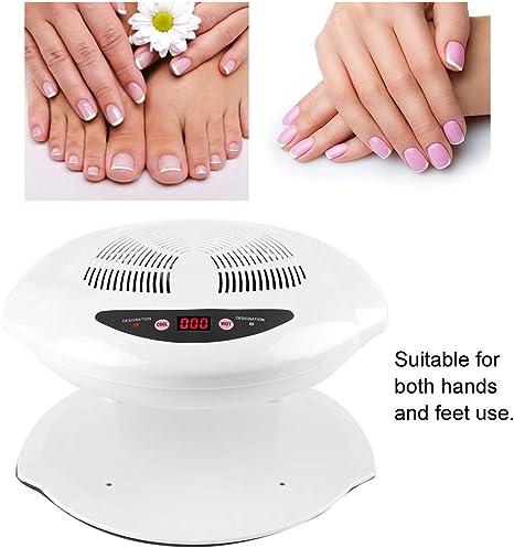Lámpara de uñas, 400W LED UV Hot & Cold Air Secador de Uñas para ...