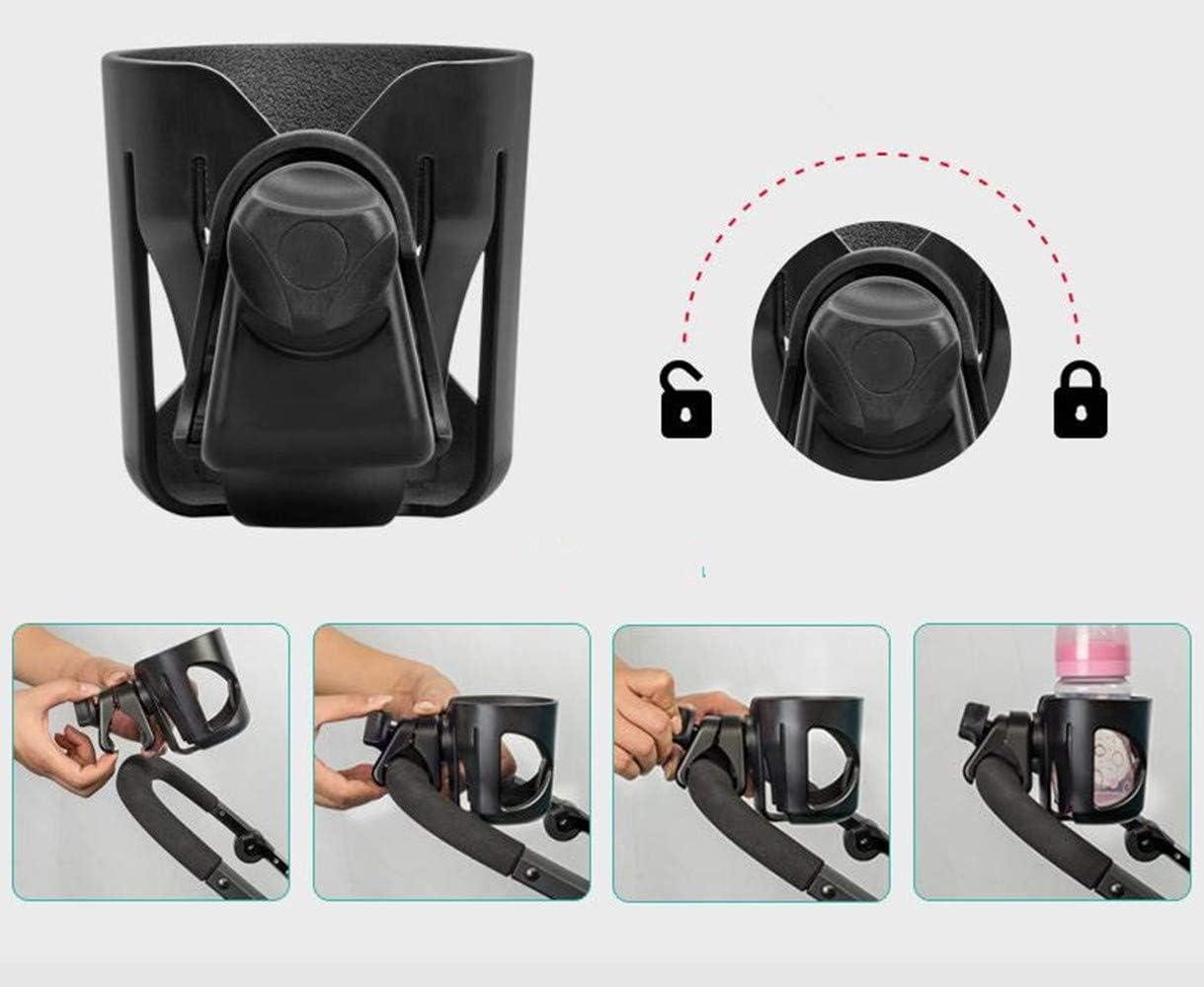 Fauteuil Roulant Chaise de Bureau Porte-biberon pour Poussettes Cage de Bouteille Deau Scooter Porte-gobelet pour Poussette