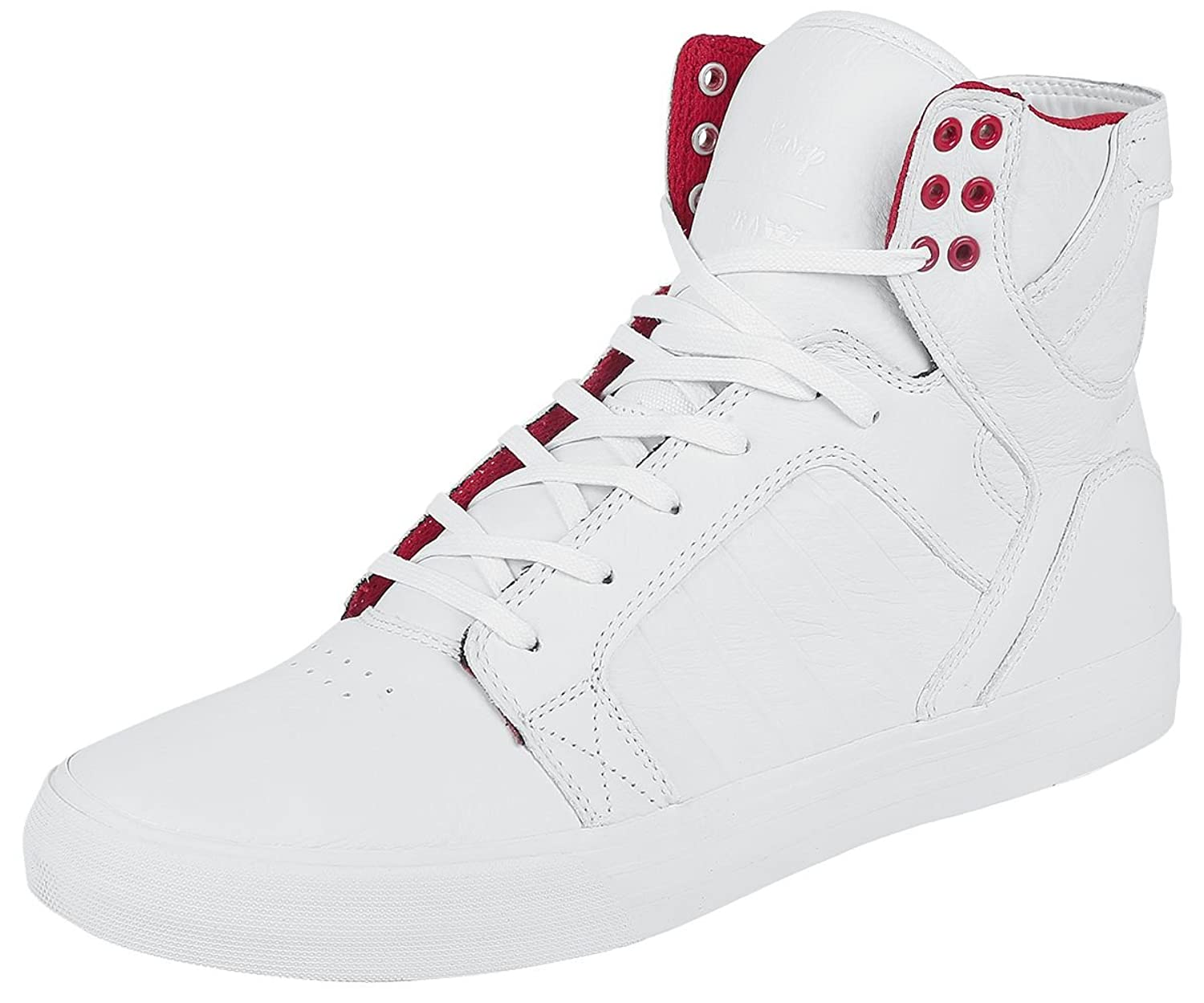 Supra Skytop Snow White-M 08174-106-M Shoes Mens Mens 4