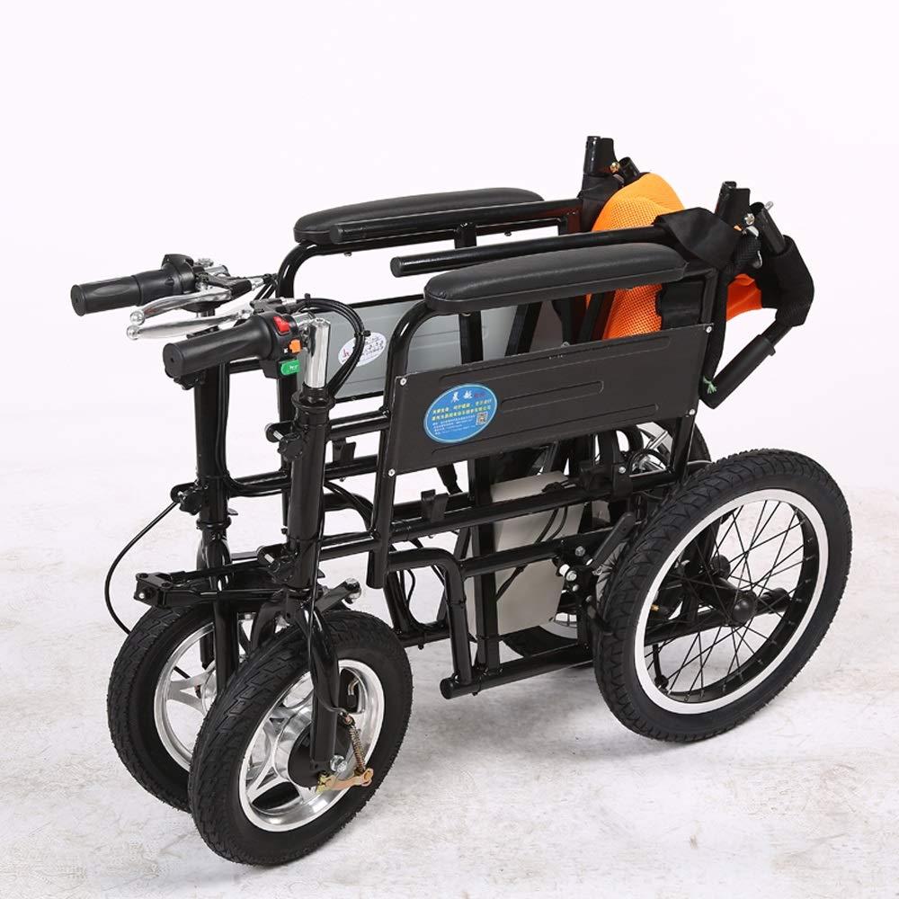 Amazon.com: Silla de ruedas eléctrica, patinete para ...