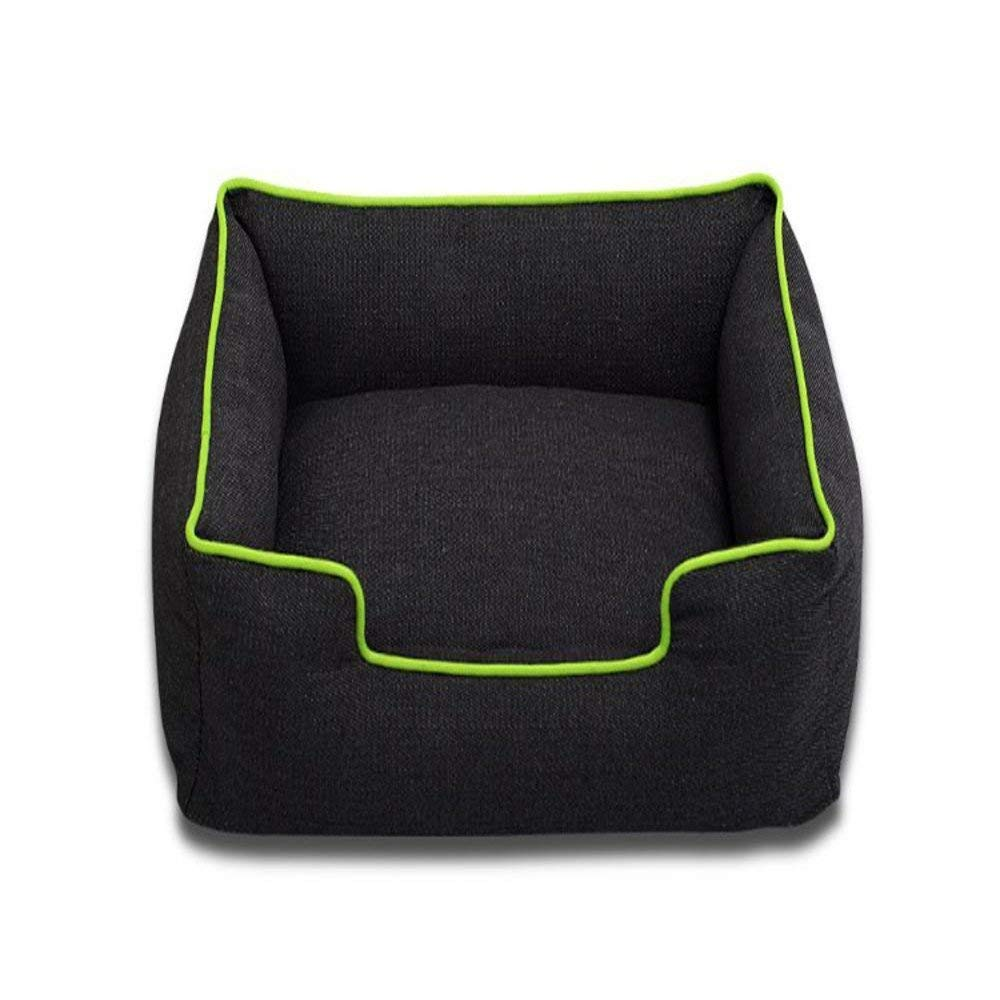 Kennel Pads Dog Beds Pet Nest Fashion Denim Thigh mat Small Dog Bed Cat Bed Pet Supplies Cover