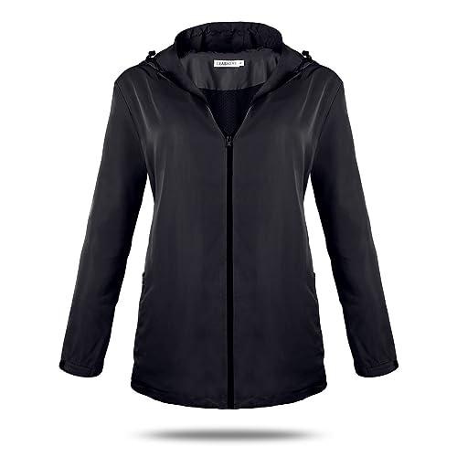 CEASIKERY - Abrigo impermeable - para mujer
