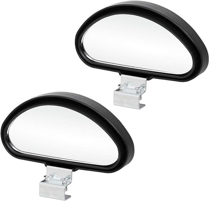 Lanceasy Blind Spot Mirror Rechteck Weitwinkeleinstellbarer Winkel Blind Spot Angle Hilfsspiegel f/ür PKW