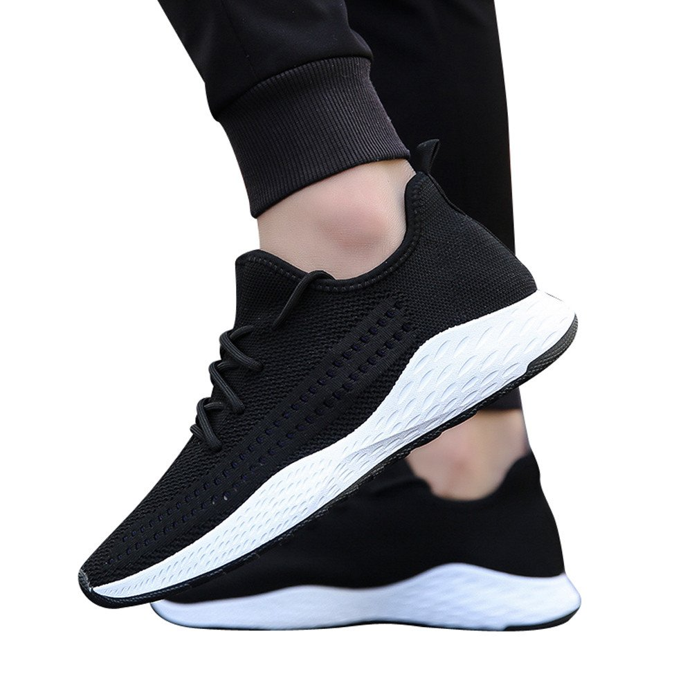 Beikoard-scarpa da Ginnastica per Uomo Tacco Tacco Tacco Piatto Tacco Largo per Uomo Scarpe da Corsa Scarpe Casual