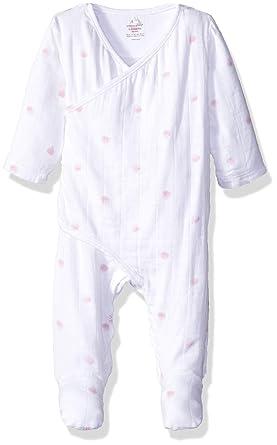 004093a81 Amazon.com  aden + anais Baby Girls Long Sleeve Kimono One-Piece ...