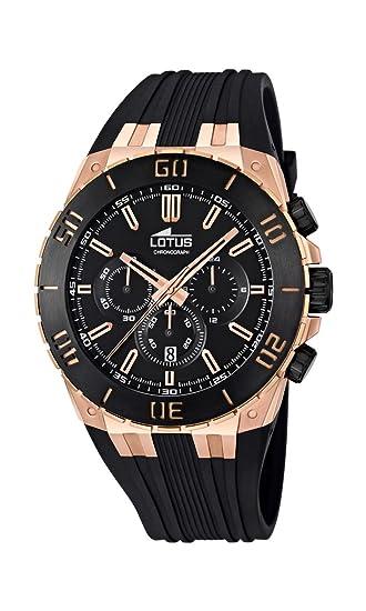 fb6074923695 Lotus - Reloj cronógrafo de Cuarzo para Hombre