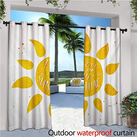 Amazon com : homehot Quote Exterior/Outside Curtains