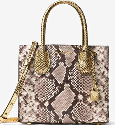 Michael Kors Snakeskin Handbag - 1