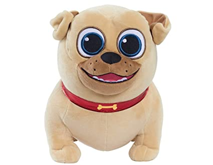 Amazon Com Just Play Puppy Dog Pals Medium Plush Rolly Plush Toys