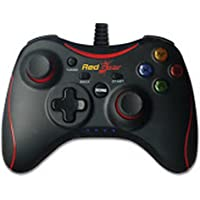 Redgear Pro Series Wired Gamepad Plug and Play Support for All PC Games Supports Windows 7/8/8.1/10