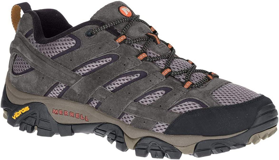 Merrell Hommes Moab Ventilator Lacets Chaussures De Randonnée Noyer #J86593 142 A TZ NOUVEAU