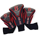 Team Golf MLB Contour Golf Club Headcovers (3 Count), Numbered 1, 3, & X, Fits Oversized Drivers, Utility, Rescue & Fairway C