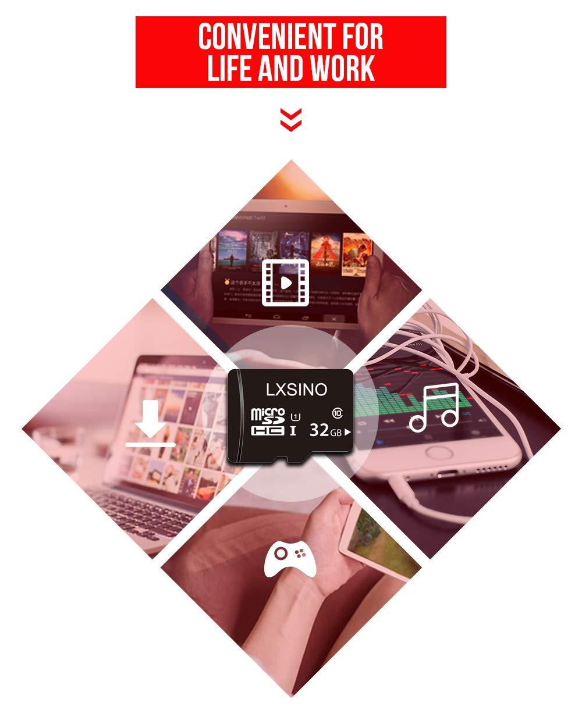 LXSINO 32GB 32G Ultra Micro SD HC Class 10 TF Flash SDHC Memory Card