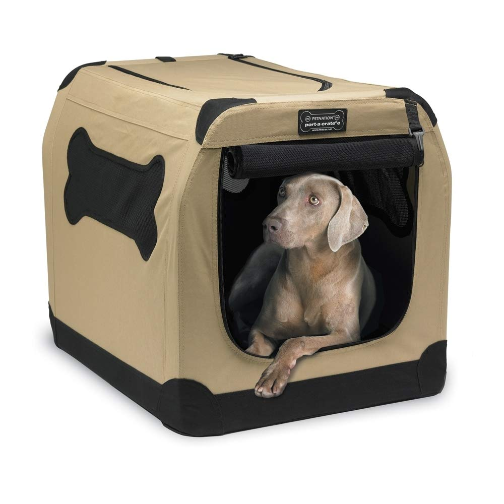 Petnation Port-A-Crate Indoor and Outdoor Home for Pets by PetNation (Image #4)