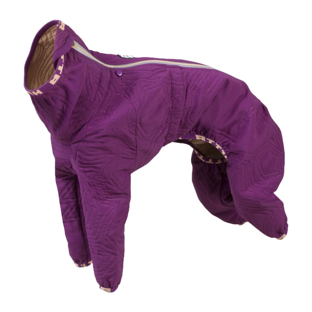 Hurtta Casual Quilted Overall Dog Coat, Heather, 12L