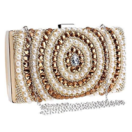 red di sacchetti diamanti hanno bordato TUTU borsa colore Oro catena di i messaggero caramella spalla di donne del della di delle borse delle sera Sacchetti della della 7zSSxq54