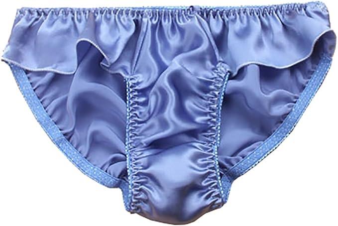 LSHARON - Bragas sexy para mujer, 100% seda de morera, lencería de gimnasia, tanga, ballet, ropa interior: Amazon.es: Ropa y accesorios