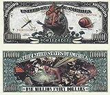 Set of 1000 - Fairies Million Dollar Bill