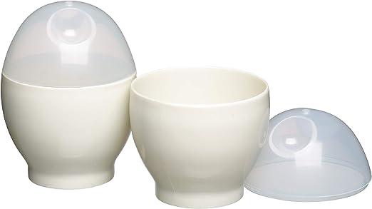 Amazon.com: Microondas huevo caldera Conjunto de dos ...