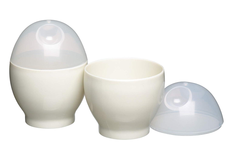 Kitchen Craft Microwave Egg Boilers, Set of 2 KitchenCenter KCMEGG